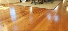 Our Select Grade antique heart pine flooring