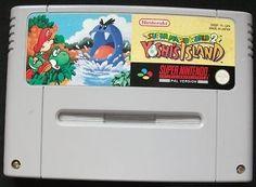 Yoshi's Island - Super Mario World 2 -  Super Nintendo - SNES - CART ONLY