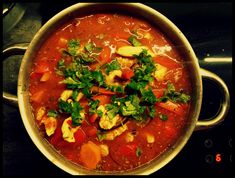 Thai Red Curry, Good Food, Vegetarian, Cooking, Ethnic Recipes, Amazing, Diet, Kitchen, Healthy Food
