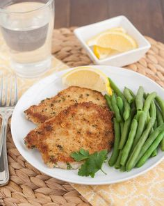 Pork Recipes : Pork Schnitzel