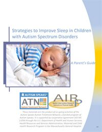 Free resource for parents to help with sleep issues. Helpful for all children, not just those on the spectrum. ATN/AIR-P Sleep Tool Kit (Parent Booklet) | | Autism Speaks  #autism #sleep