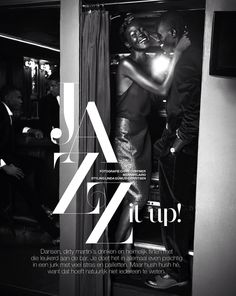 jazz it up: atong ajork by chris craymer for marie claire netherlands January 2014