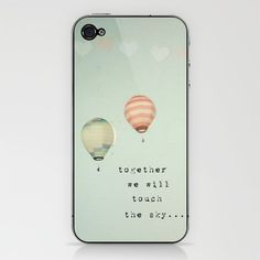 hot air balloons photo iphone case
