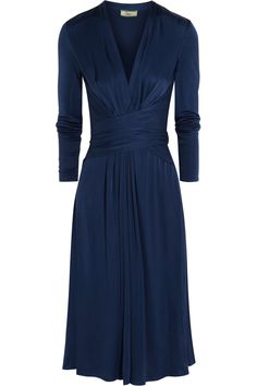 NOW 50% OFF KATE'S ISSA WRAP DRESS.  Silk-jersey dress from THE OUTNET. UK8 and UK10s left in stock.