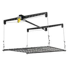 HeavyLift Storage Platform Black Epoxy Finish  sc 1 st  Pinterest & LOWES -- hang from ceiling -- Kobalt 60-in W x 40-in D Gray Steel ...