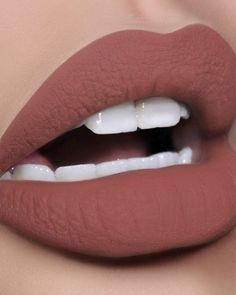 matte lipstick RESTOCK ALERT: FLESH 3 the perfect warm nude lip color . These PMG Lust: MatteTrance nude lipstick shades wont be back in stock for long Lipstick Art, Lip Art, Lipstick Colors, Green Lipstick, Lipsticks, Brown Lipstick Shades, Lipstick Guide, Crazy Lipstick, Eyeshadows