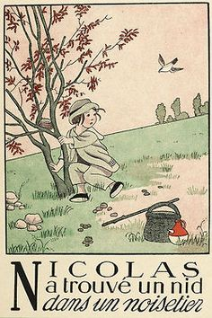 N -l'alphabet en images, Marie Madeleine Franc Nohain. Source: gallica.bnf.fr
