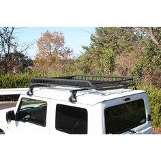 A-X(エークロス)シリーズ アルミ製ルーフラック Lサイズ ブラック :e20005:ショウワガレージ - 通販 - Yahoo!ショッピング Suzuki Jimny, Gypsy