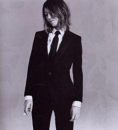 Sofia Coppola - Vogue Paris by Mario Testino, January 2005