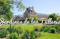 Jardines de las Tullerías: Jardines junto al Louvre de París #paris #viajar #turismo #travel