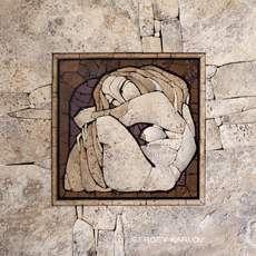 Cell -  relief mosaic 400x400 Sayanogorsk 2012 Easel mosaic - Sergey Karlov