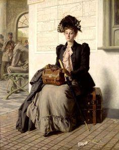 fleurdulys:  Going into the World - Evert Jan Boks 19th century