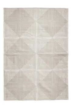 Patterned rug - Light mole - Home All | H&M GB 1