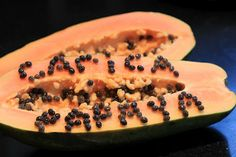 Carica papaya seeds, Seattle WA