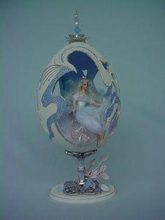 fairies mermaids dolls for egg art miniatures : Fables, Fantasy & Fairy Tales