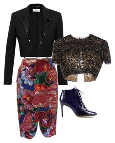 """""""Untitled #206"""" by tinachagnon on Polyvore featuring Tom Ford, Yves Saint Laurent, Emilio Pucci, Alexandre Birman, women's clothing, women's fashion, women, female, woman and misses"""