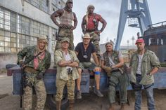 New image from The #Expendables3; Set visit reports coming this week!   JoBlo.com
