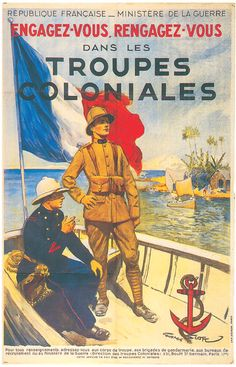 Recruiting for the French Colonial Army