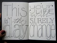This is the day by Marina Chaccur, via Flickr