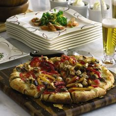 Win over guests with Chef Wolfgang Puck's Spicy Chicken Pizza
