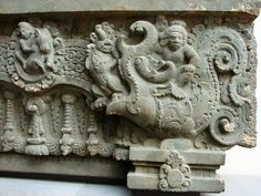 The Marutas the stormy and wild people depicted here, 7th c. stone relief from Cambodia. @Musée Guimet 897 04.jpg