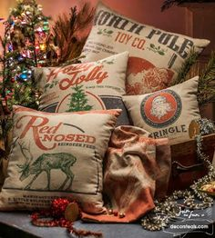 Decor Steals Deal of the Day Christmas pillows