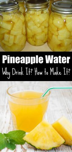 Pineapple Water: Why Drink It? How to Make It?
