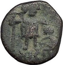 LEO I with kneeling captive 457AD Rare Authentic Ancient Roman Coin i55846 https://trustedmedievalcoins.wordpress.com/2016/05/22/leo-i-with-kneeling-captive-457ad-rare-authentic-ancient-roman-coin-i55846/