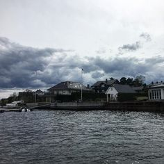#bygdøy is a residential peninsula opposite Oslo. Many people visit it with a ferry thus it feels that youre visiting an island !