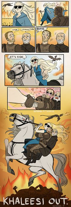 yokudan:  drogontheburninator:  kendra-p:  Hey I love Game of Thrones (Inspired by lots of wonderful gifs and photo sets, thanks internet!)  This may be the best thing I have ever seen.  this fandom kills me.