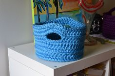 Crochet in Color: Another Version of the Chunky Basket