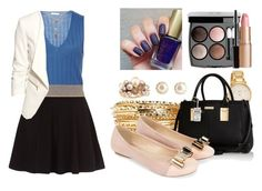 """""""GET TO WORK"""" by kolo-k on Polyvore featuring Mimí, Kate Spade, Tome, River Island, H&M, Monsoon, Chanel and Charlotte Tilbury"""