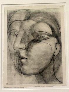 Exposition Picasso sculpteur, Sculpture, Tête de Marie-Thérèse, 18 février 1933, suite de 20 estampes, musée national Picasso