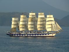 "3691oiram: ""Royal Clipper sets sail """