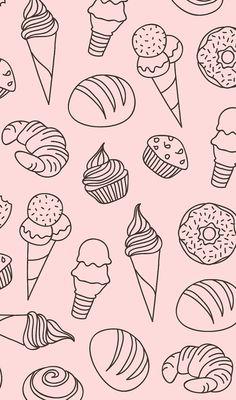 pattern, pink, and art image