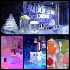 Hen party ideas:  London Ice Bar : www.belowzerolobdon.com