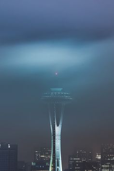 #Seattle Must See ~ The #SpaceNeedle in Seattle #Washington.