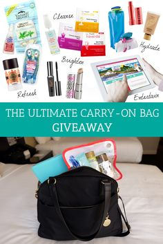 Packing tips for travel, travel essentials, travel bugs, travel neces Carry On Essentials, Travel Necessities, O Bag, I Want To Travel, Packing Tips For Travel, What To Pack, Ultimate Travel, Travel Light, Carry On Bag