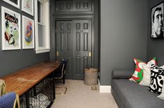 CB2 Lubi in the office / second bedroom