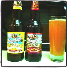 Summer shandy+berry Weiss=pink lemonade bliss :D .... Is this true?!? How come no one ever told me?!?