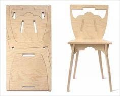 画像 : これはすごい!アイデアを活かして「一枚板から作る椅子や机」 - NAVER まとめ