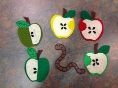 """""""Five Little Apples"""" flannelboard"""