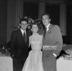 Eddie Fisher,Debbie Reynolds,Robert Wagner.