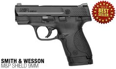 #3: A slim, concealable and lightweight design combined with the proven and trusted features found in the M&P Pistol Series puts this firearm at number 3 of the 10 best-selling this year. From the easily concealed one-inch profile to its optimized 18-degree grip angle, the M&P Shield offers professional-grade features that will provide you with simple operation and reliable performance.  Get yours @Sportsman's Outdoor Superstore.