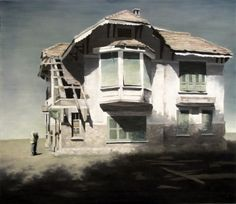 'Evening', from 'Heritage' series 2011 Oil on canvas. 130 x 150 cm  from san art | independant artist space