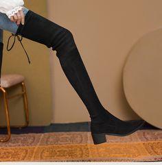 Thigh High Boots, Knee Boots, Thigh Highs, Thighs, Shoes, Fashion, Moda, Tall Boots, Zapatos