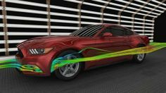 A Visit To Ford's Wind Tunnel To Look At The New Mustang's Slick Aero Tricks
