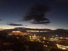 Atardecer en Vigo hace un momento sobre la ría #now #sunset #sun #pretty #beautiful #red #orange #pink #sky #skyporn #cloudporn #nature #clouds #horizon #photooftheday #instagood #gorgeous #warm #view #night #silhouette #instasky #all_sunsets #Galicia #Vigo #Galicia #Spain #Landscape #nofilter