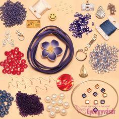 Vitorlára fel! - nyári gyöngycsomag • Gyöngyvásár.hu Washer Necklace, Jewelry, Jewlery, Bijoux, Jewerly, Jewelery, Jewels, Accessories