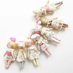 Hope the storm clears a little tomorrow so I can take pics of the 38 other sweeties! I can't wait to show you the Hipsters! Doll Crafts, Diy Doll, Sewing Toys, Sewing Crafts, Handmade Crafts, Diy And Crafts, Doll Face Paint, Cute Plush, Child Doll